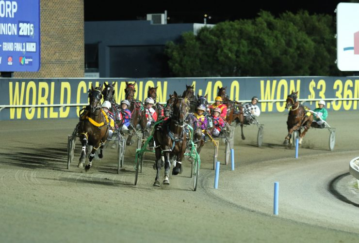Tuesday racing at Albion Park Harness Racing CLub