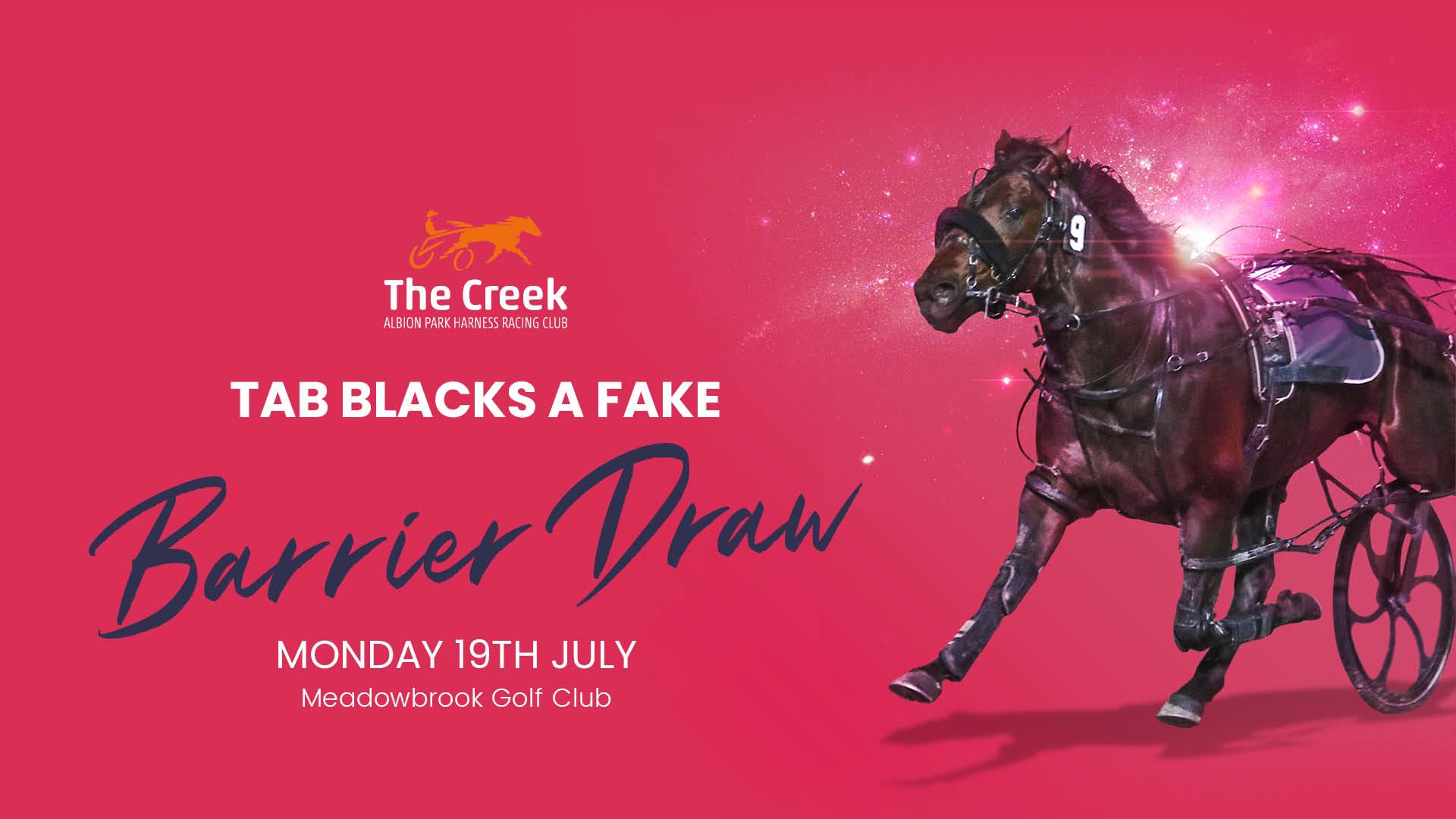 3724Barrier Draw – TAB Blacks A Fake
